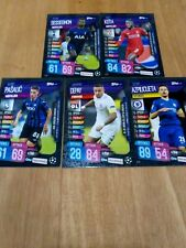 Match Attax 19/20 Champions - On Demand GameWeek 8  COMPLETE SET OF ALL 5 !