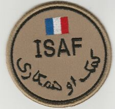 ISAF. AFGHANISTAN. NATO forces FRANCE patch DESERT 'N' VLCRO