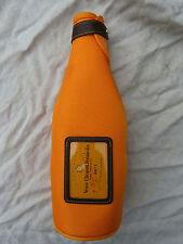 CHAMPAGNE BOTTLE COOLER VEUVE CLICQUOT PONSARDIN bright orange new no tags
