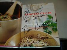 Everyday Italian by Giada De Laurentiis SIGNED (Hardcover 2005) EX, 1st/7th