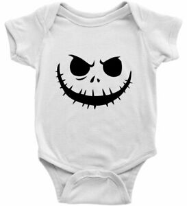 Infant Baby Bodysuit One Pieces Romper Gift Nightmare Before Christmas Halloween