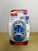 Nuk Orthodontic Pacifier Blue Elephant Boy 6-18 Months Silicone BPA Free
