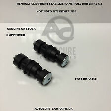 RENAULT CLIO MK1 MK2 FRONT STABILIZER ANTI ROLL BAR LINKS (FITS: RENAULT CLIO)