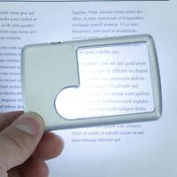 Gute Kreditkarte Led Lupe Mit Licht Ledertasche Lupe Glas ZJ 'FBB