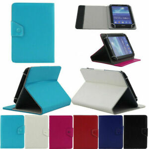 Universal Folio Cover Stand Leather Case For Barnes Noble Nook Color Tablet 7in