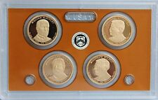 2013-S Presidential Proof Dollar Set  Gem Cameo!!  No Box or COA