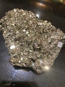 HUGE Pyrite Druzy Piece 4, Premium Grade, High Quality 2.188kg – L18xW12xH7cm