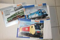 3 Catalogue ROCO 2004 HO HOe locomotive vapeur diesel DB SNCF SNCB FS SBBCFF OBB