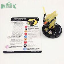 Heroclix DC Rebirth set Deathstroke #057 Super Rare figure w/card!