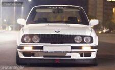 Apron for SE BMW E30 front bumper spoilerchin lip addon valance trim splitter