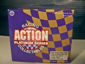 Action Platinum Series Dale Jarrett & Kenny Irwin Batman & Joker 1:64 diecast
