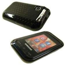caseroxx TPU-Case voor Samsung C3300 Champ in black-clear gemaakt van TPU
