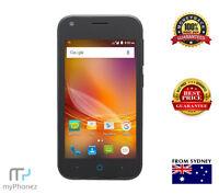 Brand New ZTE Zip 4G Black Cheap Mobile Smart Phone Unlocked AUS seller