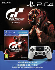 Ps4 Gran Turismo Sport with Gt Sport Limited Edition Dual Shock Controller