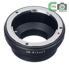 OM-Nikon 1 Olympus OM Lens to Nikon1 N1 J1 J2 J3 J4 S1 V1 V2 V3 AW1 Adapter