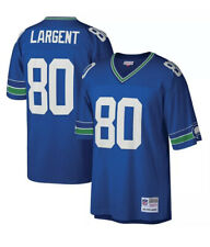 New listing Seattle Seahawks Steve Largent #80 Mitchell & Ness 1985 Retired NWOT Jersey XL