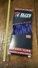 Elite Hockey Prolace Waxed Hockey Skate Laces Pair Purple 108in