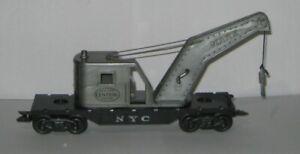 MARX -  NEW YORK CENTRAL CRANE CAR