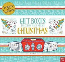 Gift Boxes to Decorate and Make: Christmas (Paperback or Softback)