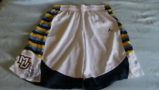 Nike Jordan Authentic Game Issued MU Marquette Golden Eagles shorts sz 44 white