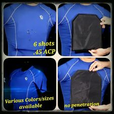 Level IIIA Bulletproof Compression Shirt (FRONT/BACK)