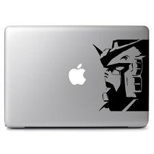 Gundam Head Decal Sticker for Macbook Laptop Car Window Bumper Helmet Wall Decor