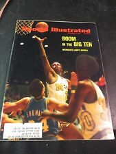 Sports Illustrated Dec. 11, 1972 Boom in the Big Ten Michigan's Campy Russell
