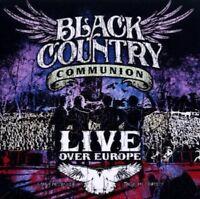 BLACK COUNTRY COMMUNION - LIVE OVER EUROPE 2 CD NEU