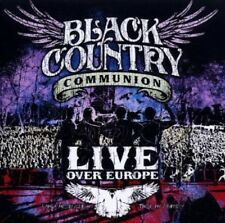 BLACK Country Communion-Live Over Europe 2 CD NUOVO