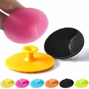 Blackhead Pore Cleansing Brush Skin Cleaner Scrub Face Silicone Facial Scrubber