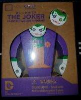 "Loot Crate Exclusive ""The Joker"" Painted Wooden Figure DC Comics 2015 - NIB"