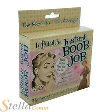 Inflatable Instant Boob Job Novelty Hen Party Stag Do Secret Santa Joke Gift