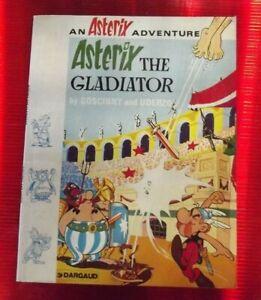 Ancien Album Astérix the Gladiator 1982 édition souple en Anglais