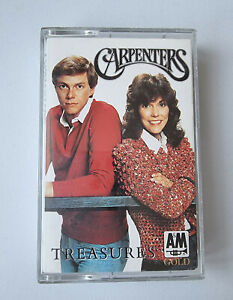 Carpenters - Treasures - Cassette  Tape Album - A@M / Pickwick international