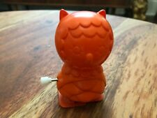 Nathan Jurevicius Wind-Up Owl - Orange
