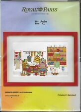 Royal Paris Counted Cross Stitch Kit Les Tricoteuses Sealed New