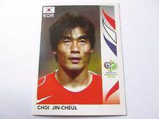 Sticker PANINI Fifa World Cup GERMANY 2006 N°497 South Korea Choi Jin-Cheul