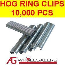 10,000 C7 GALFAN HOG RING C CLIPS SR8 JAMBRO STLYE PLIERS FENCE RINGER GUN WIRE