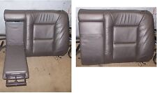 SAAB 9-5 YS3E Rücklehne links Armlehne Becherhalter Leder seatback right leather