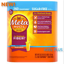 Metamucil MultiHealth Fiber, Sugar Free, 260 Teaspoons . NEW !