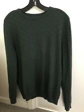 Burton Mens Green Jumper Size Medium