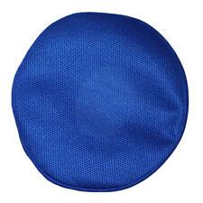 1 Pcs Comfortable Soft Bar Stool Cover Round Chair Seat Beauty Salon Blue
