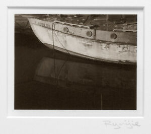 RYUIJIE CLASSIC 2005 BOAT REFLECTION 4X5 PLATINUM PHOTOGRAPH - PRICED TO SELL!