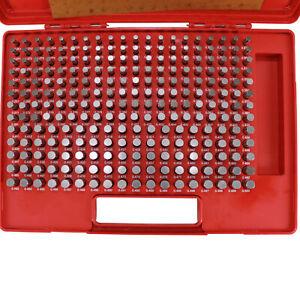 """HFS(R) 250 PCS 0.251-0.500"""" M2 Class ZZ Steel Pin Gage Set Plus"""
