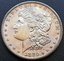 1880 S USA Silver Morgan Dollar - 90% Silver - Better Grade - Beautiful Toning