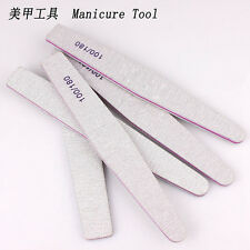 Lot 5Pcs Nail Sanding Files Polish Buffer Block Manicure Pedicure Tips Gel Vogue