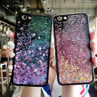 For Various Phone Case Cover HOT Glitter Stars Dynamic Quicksand Soft Back Skins