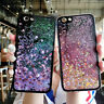 For Various Phone Case Cover HOT Glitter Stars Dynamic Quicksand Soft Back Skins