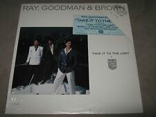 RAY GOODMAN BROWN Take it to the Limit RARE SEALED PROMO Vinyl LP 1986 ST-17235
