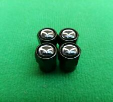 MAZDA BLUE Wheel Valve Dust caps ANTI THEFT MX-5 RX-8 CX-5 Bongo 323  CX-3